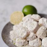 vegan lime meltaway cookies